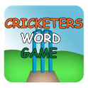 Cricketers Word Game icon