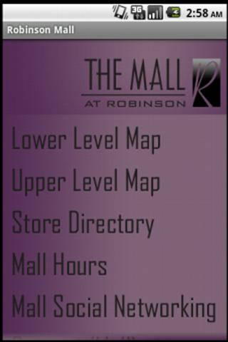 The Mall at Robinson - screenshot