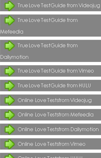 True Love Test Guide