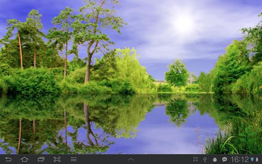����� ������ Forest Pond Live Wallpaper FULL v1.01