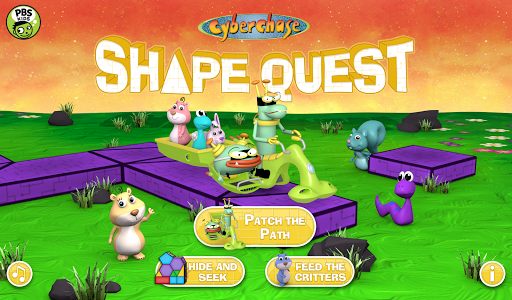 玩免費教育APP|下載CyberChase Shape Quest! app不用錢|硬是要APP