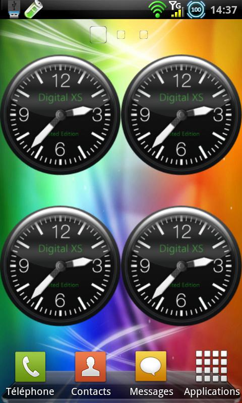 DXS Analog Clock - screenshot
