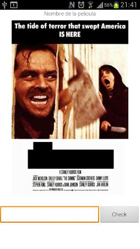 Movie Poster Quiz Spanish