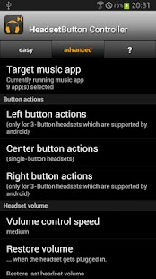 Headset Button ControllerTrial Screenshot