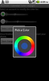 Calendar Color Changer- screenshot thumbnail