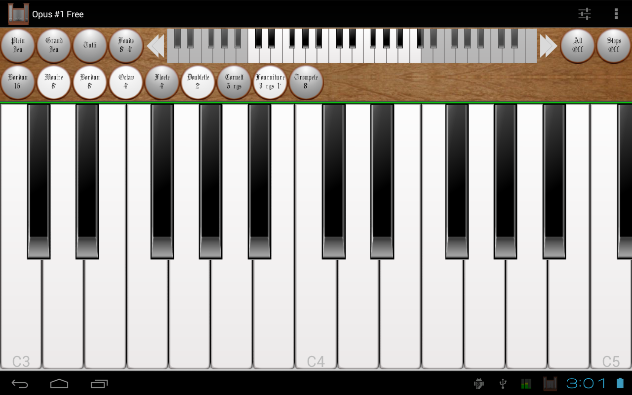 Opus #1 Free - The Pipe Organ - screenshot
