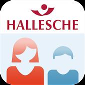 HALLESCHE Vorsorge App