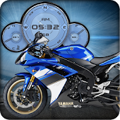 Yamaha R1 Moto Live Wallpapers
