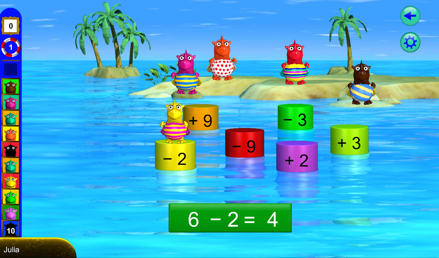 Math 1 - math with Fragenbär- screenshot