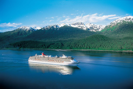 Carnival-Spirit-Aerial-2 - Sail with Carnival Spirit to beautiful bays an ocean away from home.