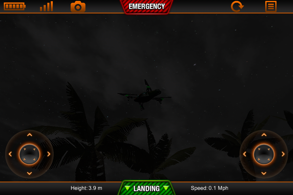 ARDrone Sim- screenshot