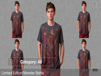Men's T-Shirt Store App - screenshot thumbnail