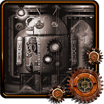 Steampunk Droid Fear Lab LWP v1.0.2