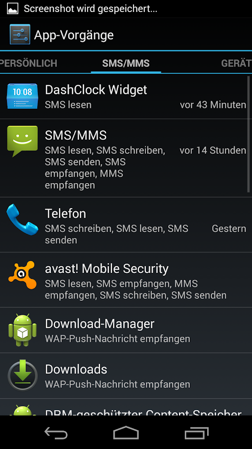 App Ops - Permission Manager - screenshot
