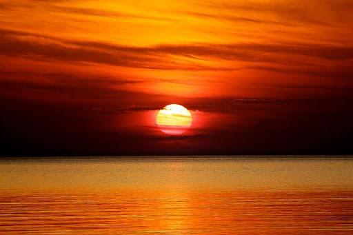 nice sunset wallpaper