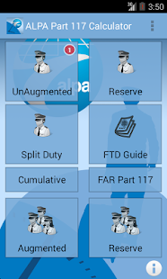 ALPA Part 117 Calc. & Guide- screenshot thumbnail