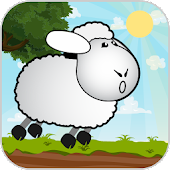 Sheep Jumping