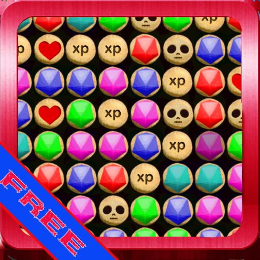 解謎App|宝石超级匹配4个孩子免费 LOGO-3C達人阿輝的APP