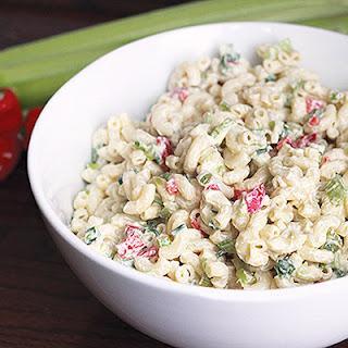 Skinny Macaroni Salad.