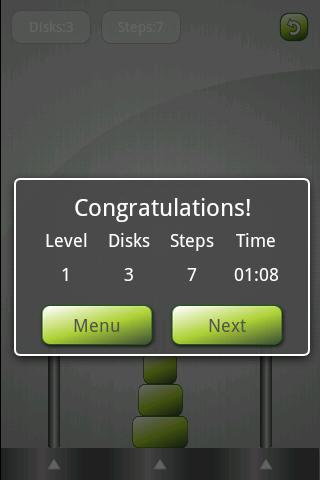 The Towers of Hanoi - screenshot