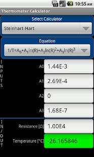 Thermometer Calculator- screenshot thumbnail