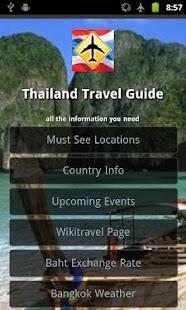 Thailand Travel Guide- screenshot thumbnail