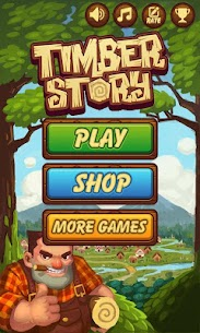 Timber Story MOD (Unlimited Wood) 1