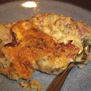 End of the Line Ham Casserole.