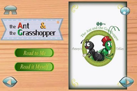Ant&Grasshopper:3D Story Book- screenshot thumbnail