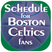 Schedule Boston Celtics fans