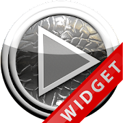 Poweramp Widget Grey Leather
