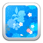 Blue Pattern Live Wallpaper icon