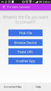 The Video Converter Screenshot