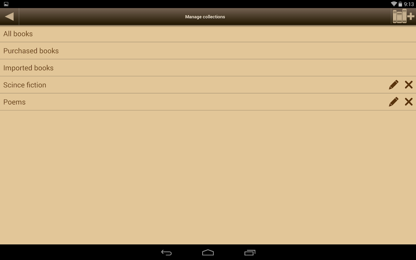 Ebook Reader - screenshot
