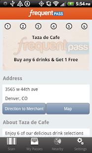 Frequent Pass- screenshot thumbnail