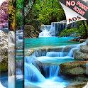 WaterFall LWP (Free Push Ads) icon