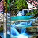 WaterFall LWP (Free Push Ads) icon