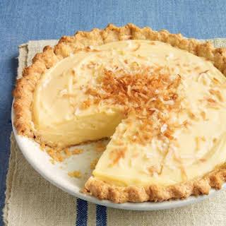 Coconut Custard Pie With Coconut Milk Recipes.