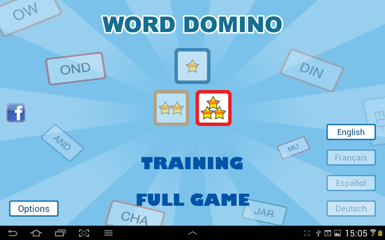 Word Domino - Letter games - screenshot