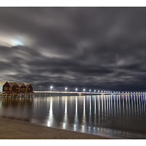 Busselton Jetty by Steve Brooks - Landscapes Beaches ( busselton, australia, jetty, western australia,  )