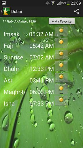 World Prayer Timings Islamic