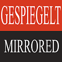 Mirrored logo