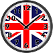 UK Flag Analog Clock