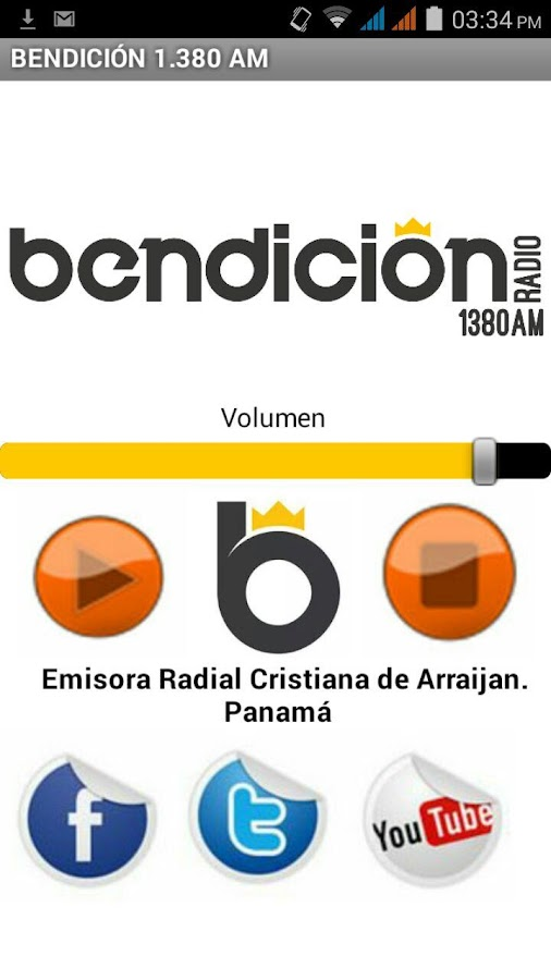 Bendicion Radio- screenshot
