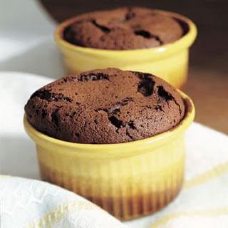 Warm Molten Chocolate Cakes.
