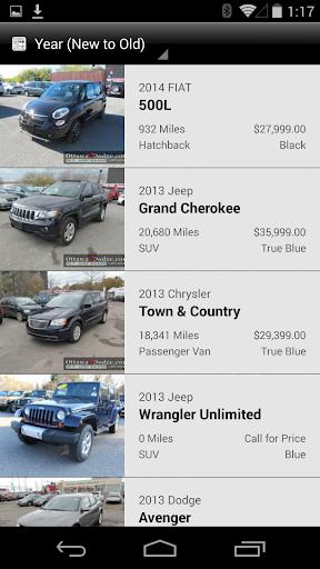 Ottawa Dodge DealerApp