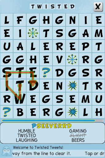 Twisted Tweets Word Search 1.0.5 screenshots 7