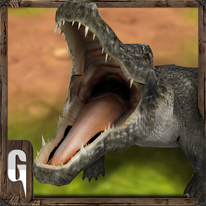 Real angry crocodile simulator for PC and MAC