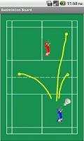 Screenshot of Badminton Tactics Board Lite