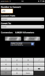 Conversion Calculator - screenshot thumbnail